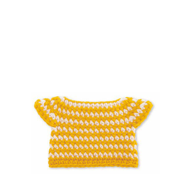 Just Dutch Dress - Striped Yellow