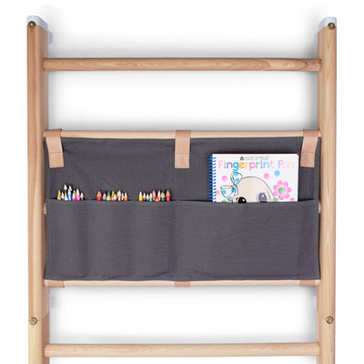 KAOS Endeløs Canvas Organizer for Wall Bar – Dark Grey