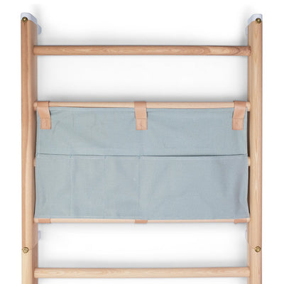 KAOS Endeløs Canvas Organizer for Wall Bar – Dusty Aqua