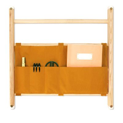KAOS Endeløs Canvas Organizer for Wall Bar – Pumpkin Spice