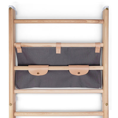 KAOS Endeløs Canvas Shelf for Wall Bar – Dark Grey