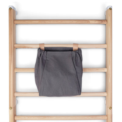 KAOS Endeløs Canvas Storage Bag for Wall Bar – Dark Grey