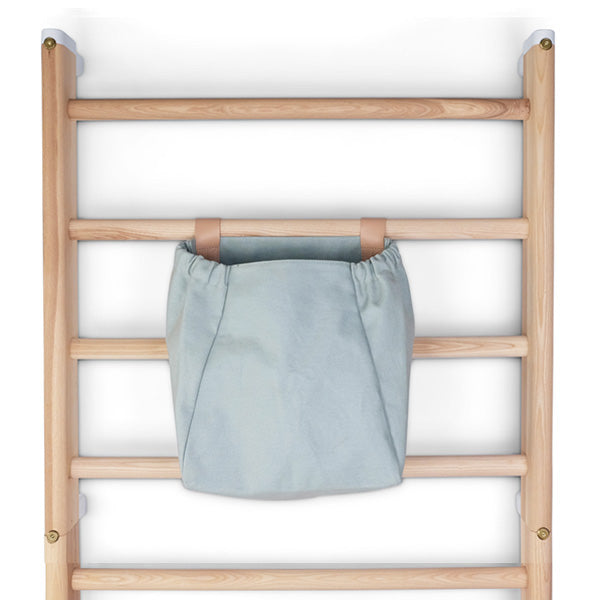 KAOS Endeløs Canvas Storage Bag for Wall Bar – Dusty Aqua