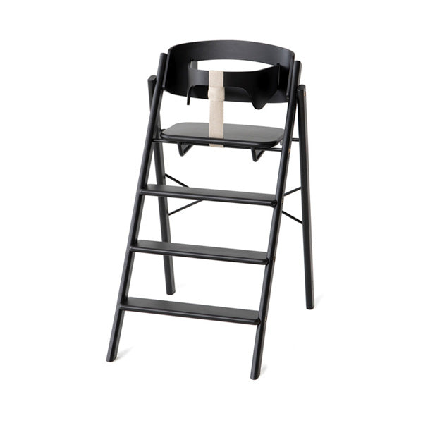 KAOS Klapp Foldable High Chair - Black