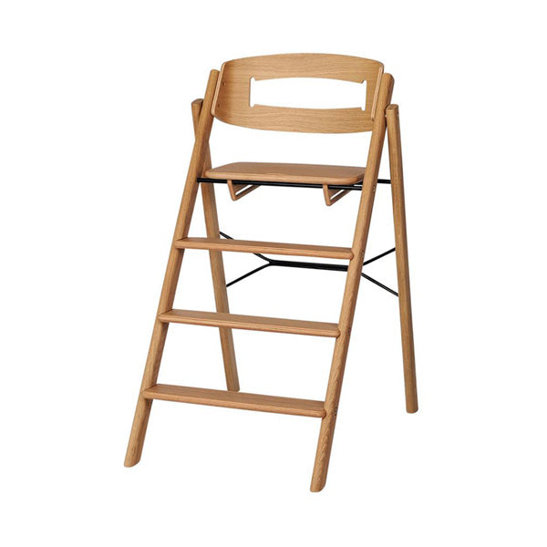 Kaos Klapp Foldable High Chair - Oak