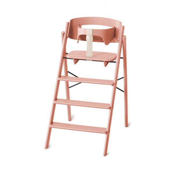 KAOS Klapp Foldable High Chair - Pale Coral