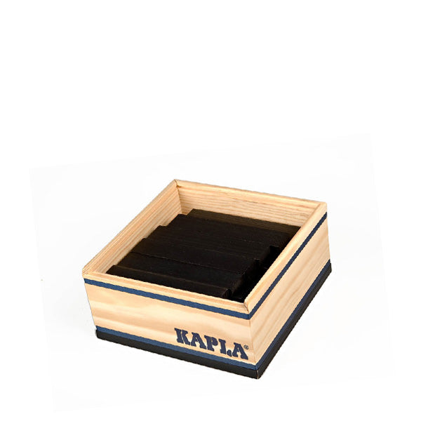 Kapla 40 Piece Wooden Building Set – Black