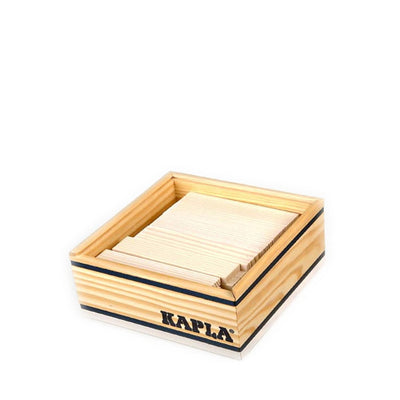 Kapla 40 Piece Wooden Building Set – White