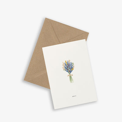 Kartotek Copenhagen Greeting Card - Bouquet