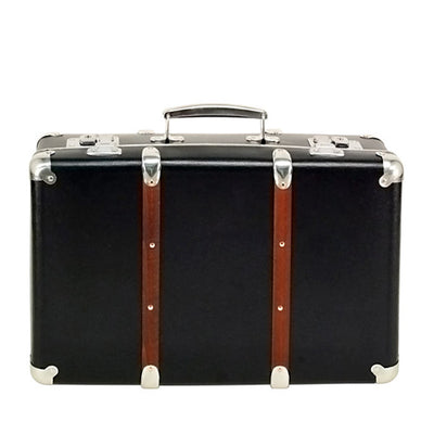 Kazeto Riveted Suitcase - Black