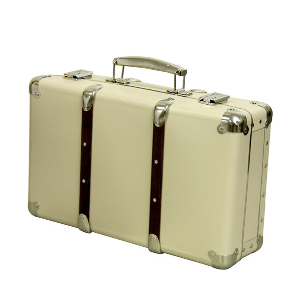 Kazeto Riveted Suitcase - Ivory