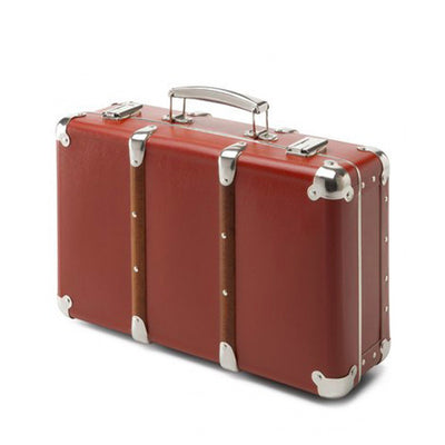 Kazeto Riveted Suitcase - Ox Red