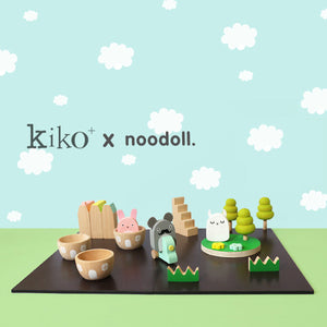 Noodoll Play Set - Wooden Ricetown