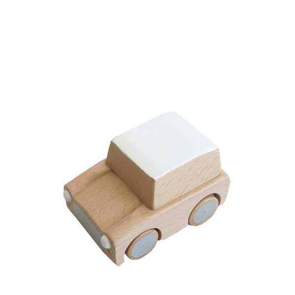 Kiko+ Kuruma Natural Wooden Toy Car