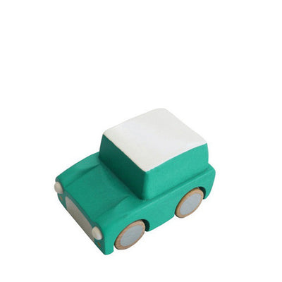 Kiko+ Kuruma Green Wooden Toy Car