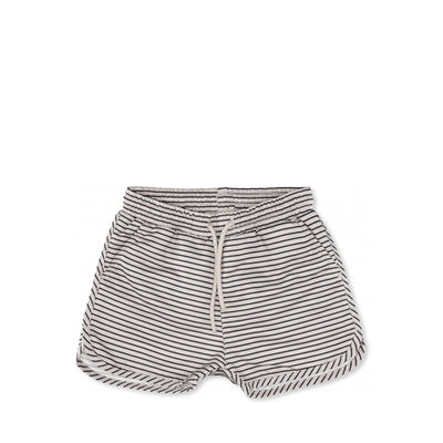 Konges Sløjd Soleil Boys Swim Shorts - Striped Navy/Nature