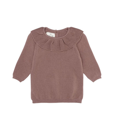 Konges Sløjd Fiol Collar Wool Knit Sweater – Ruben Rose