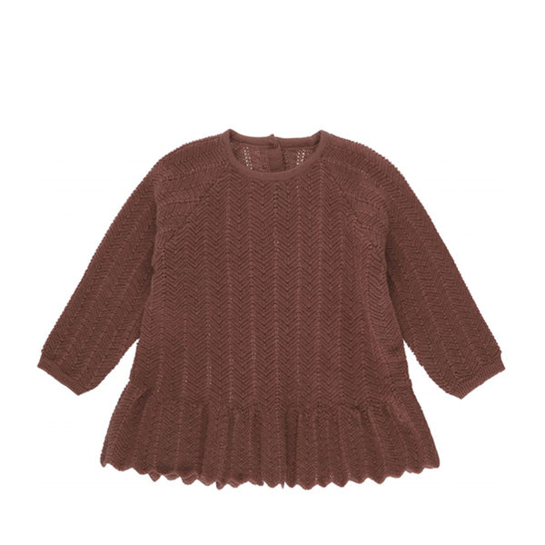 Konges Sløjd Fortun Frill Wool Blouse Pointelle – Ruben Rose