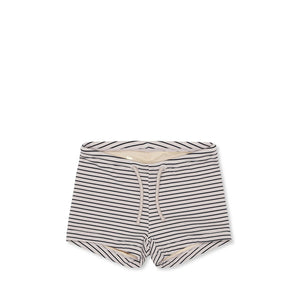 Konges Sløjd Soleil Uni Swim Shorts - Striped Navy/Nature