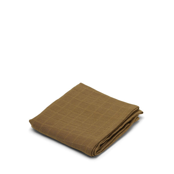 Konges Sløjd Muslin Cloth – Dark Honey