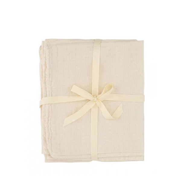 Konges Sløjd Raw Muslin Cloths - 3 Pack