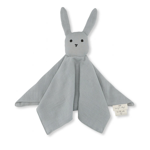 Konges Sløjd Sleepy Rabbit Cuddle Cloth - French Blue