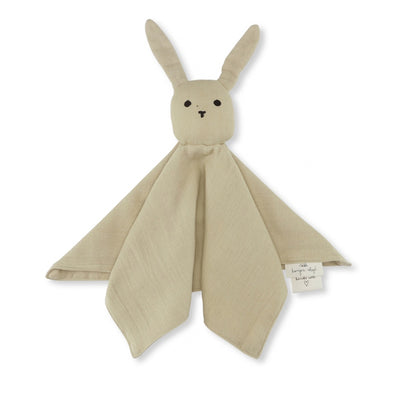 Konges Sløjd Sleepy Rabbit Cuddle Cloth - Sand
