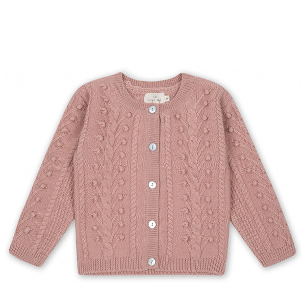 Konges Sløjd SILYA Cardigan - Rose Blush