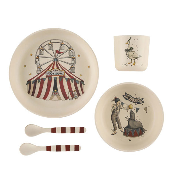 Konges Sløjd Circus – Dinner Set