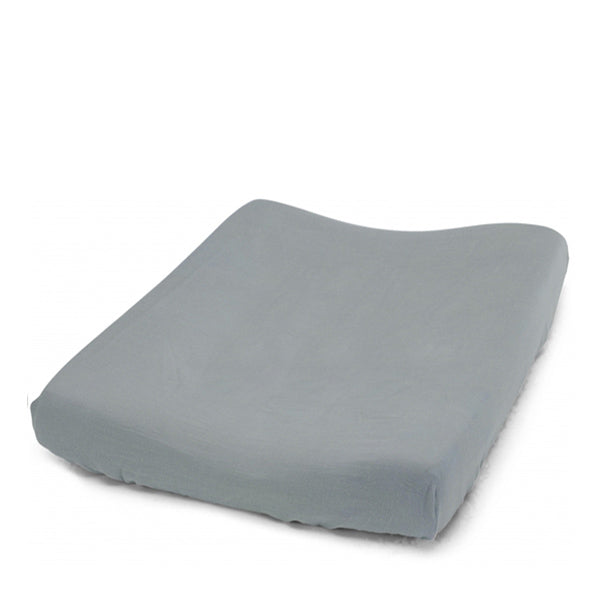 Konges Sløjd Fitted Sheet for Changing Cushion – French Blue