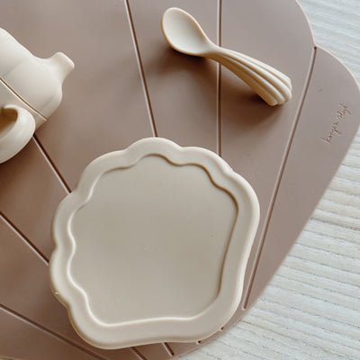 Konges Sløjd Silicone Dinner Set CLAM - Shell