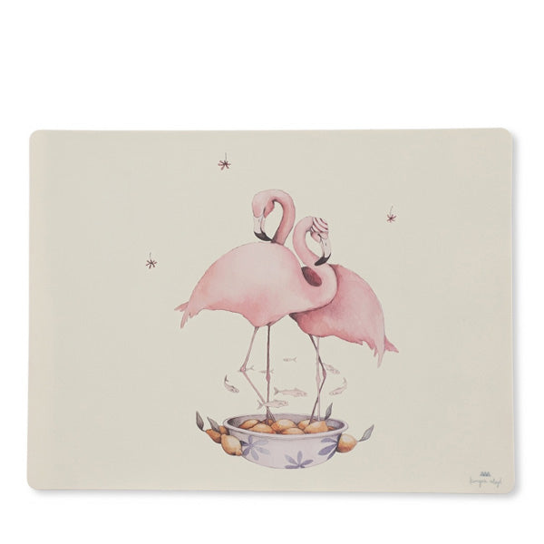 Konges Sløjd Silicone Placemat - Flamingo