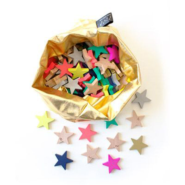 Kukkia - Kiko+ Tanabata Wooden Star Dominoes