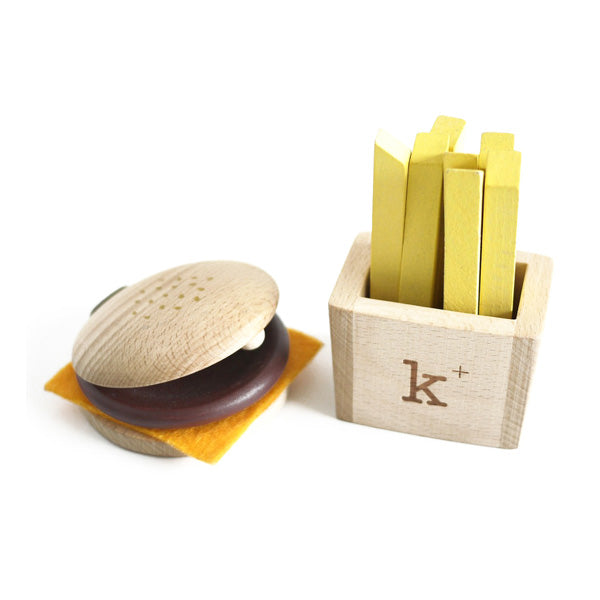 Kukkia - Kiko+ Hamburger and Fries Instrument Set