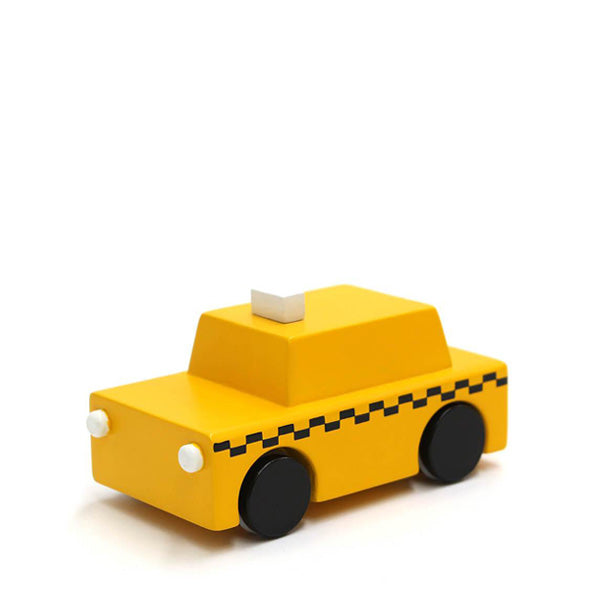 Kiko+ Wooden Wind Up Car – NY Taxi