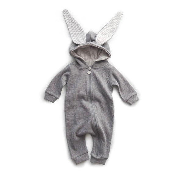 LALA Rabbit Suit – Gray