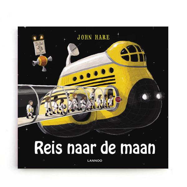 Reis naar de Maan by John Hare - Dutch