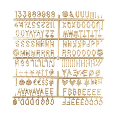 LEDR Letterset for Letter Board – Gold