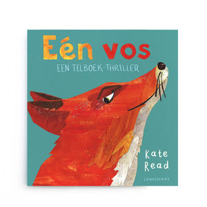 Eén Vos een telboek-thriller by Kate Read