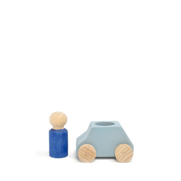 Lubulona Wooden Toy Car - Grey