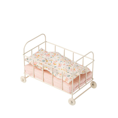 Maileg Baby Cot Metal - Micro