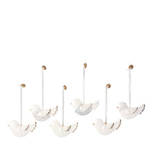 Maileg Ornament Box, Metal 6 ass. - Birds