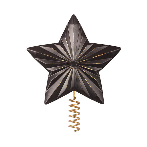 Maileg Metal Star for Christmas Tree – Antracite