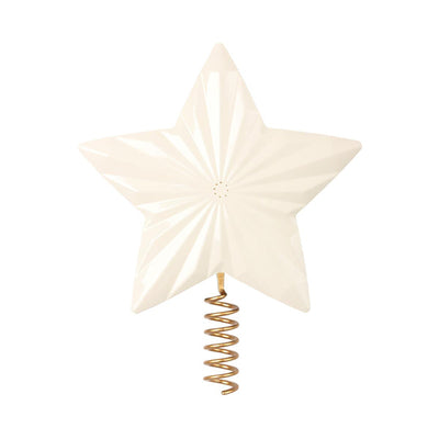 Maileg Metal Star for Christmas Tree – Off White