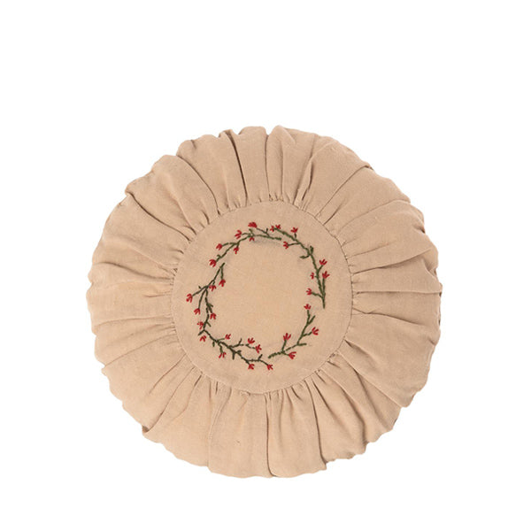 Maileg Cushion Round - Flower Circle