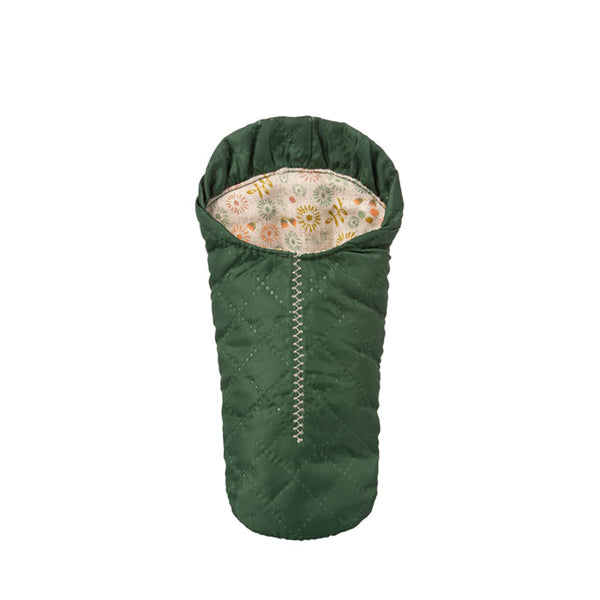 Maileg Sleeping Bag, Small Mouse - Green
