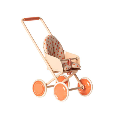 Maileg Stroller, Micro - Soft Coral