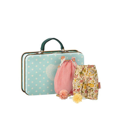 Maileg Suitcase with 2 Dresses for Micro