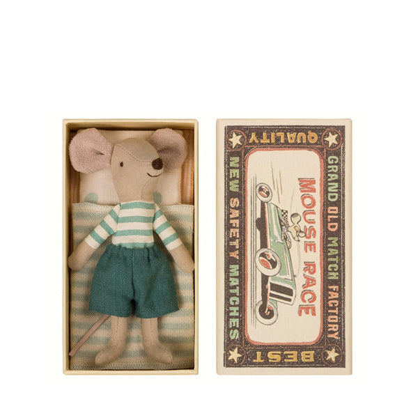 Maileg Mouse Big Brother in Box