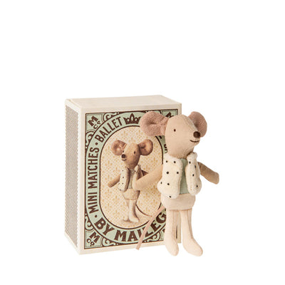 Maileg Dancer in Matchbox - Little Brother Mouse